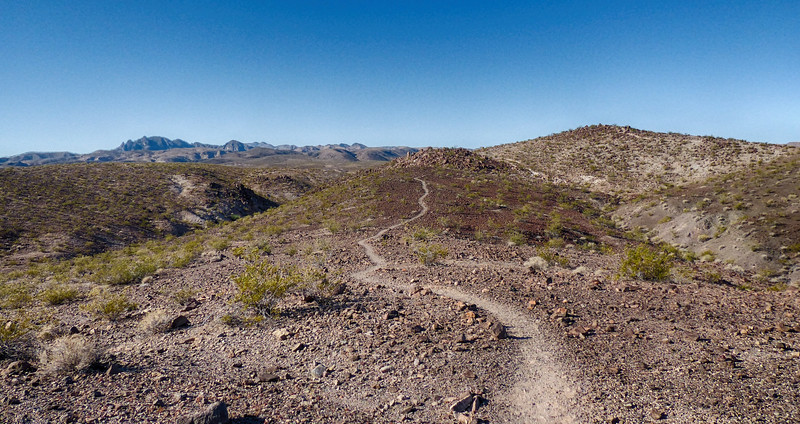 Bluffs Trail - Lake Mead - May 25, 2017