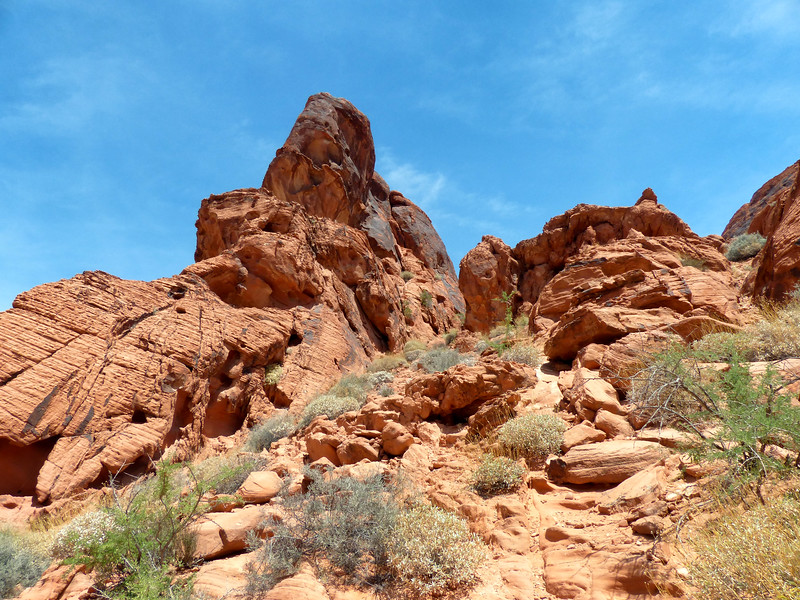 Mouse Tank Trail - Valley of Fire - May 30, 2017