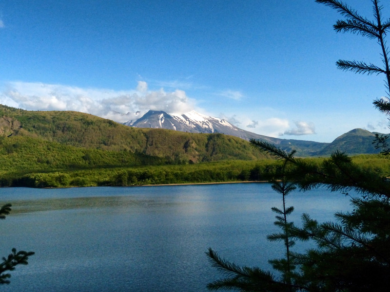 Coldwater Lake - Mt St. Helens - June 29, 2019