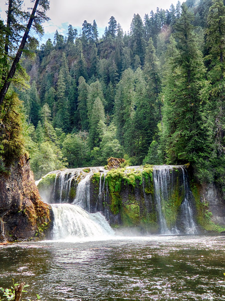 ** Gifford Pinchot National Forest ** Lewis River Falls - Trail #31 - August 10, 2019
