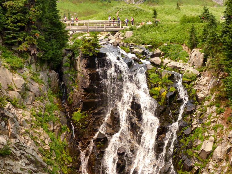 Myrtle Falls - Paradise - August 5, 2021