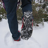 Although hard to see, each traction device offers chains plus 10 spikes.  I'd rate this an excellent product.  They are about $60/pair and well worth it for the safety and security they offer.  We can easily walk up/down steep ice laden sections of rock/trail.