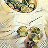Still Life Brussel Sprouts by Roberta