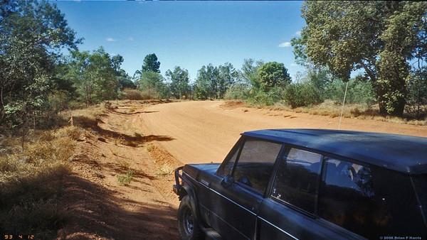 When Talafa Road was all dirt.  1993
