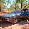 Keith & his V8 Holden Statesman at Talafa.