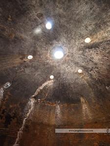 Bóveda de horno en el alfar del Carmen