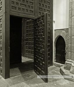Puerta de acceso a la Colegial