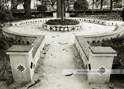 Pasillo de los Jardines del Prado