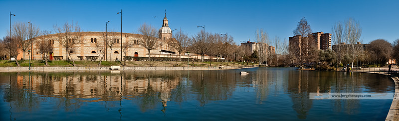 Reflejos en el Parque de la Alameda (I)