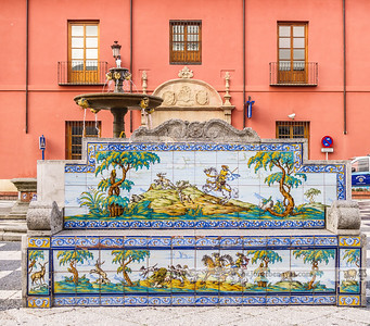 Banco de cerámica (Plaza del Pan)