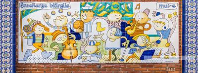 Cerámica en el Colegio San Ildefonso (Talavera)