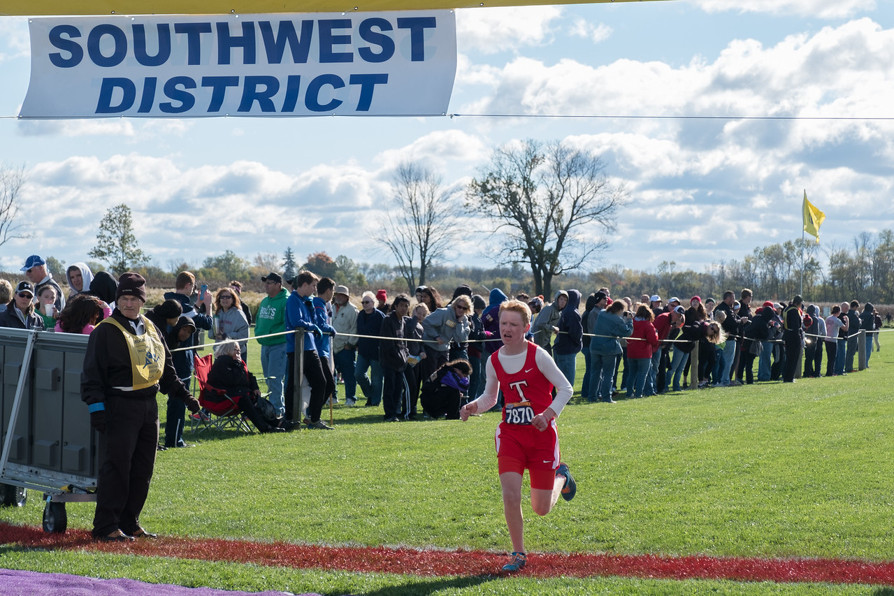 Districts Cedarville THS Cross Country