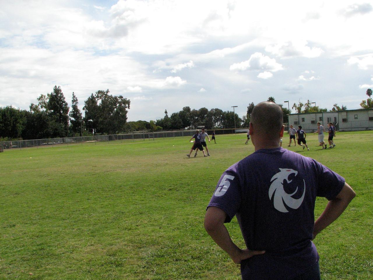 2006 10 13 Fri - Wide field shot 2 & Daniel Eng's back