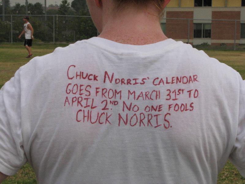 2006 11 03 Fri - Chuck Norris rules 3