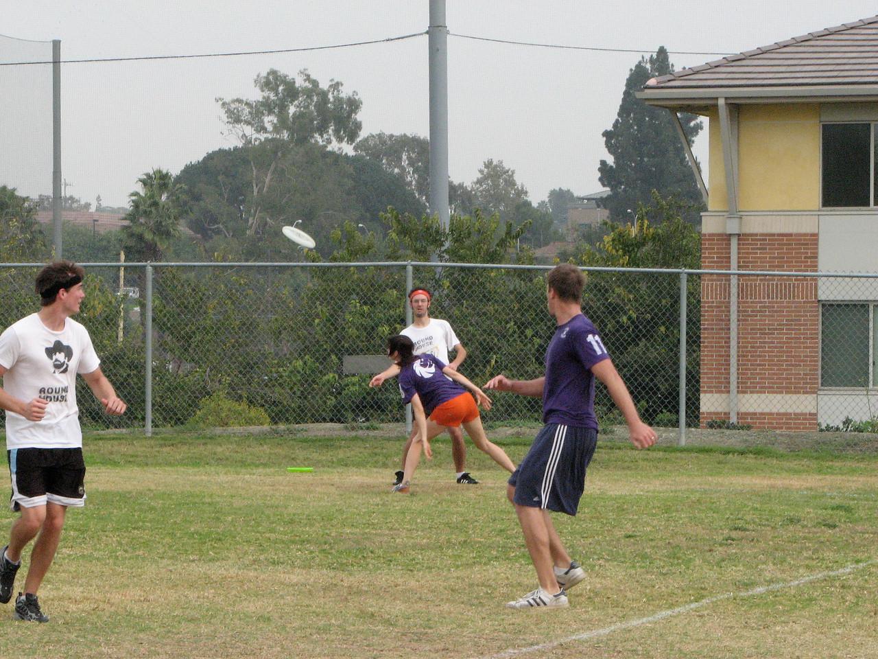 2006 11 03 Fri - Becca defending