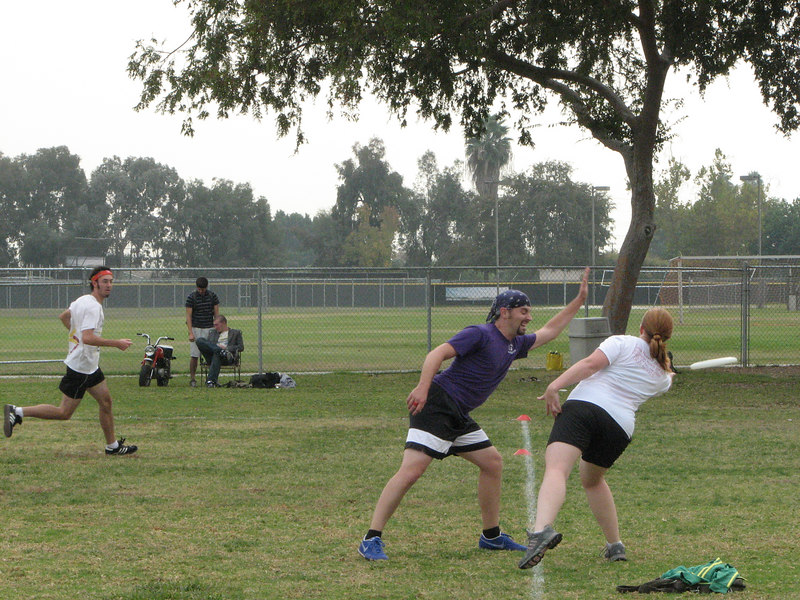 2006 11 03 Fri - John's facial expression will block the throw 2 - yes, they are 2 different shots