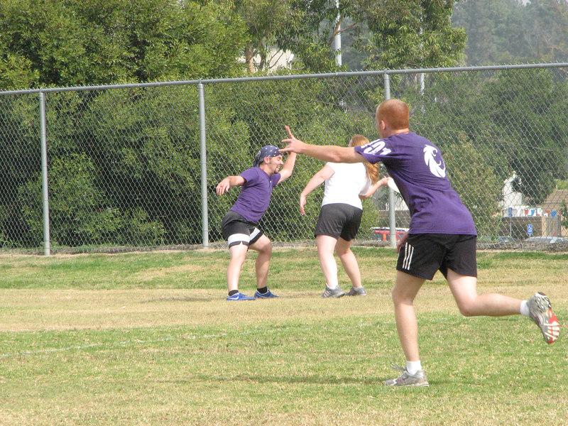 2006 11 03 Fri - John's facial expression will block the throw 1