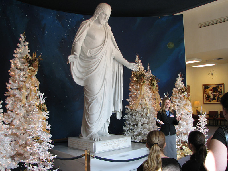 2006 11 18 Sat - Massive Jesus 'The center of our church' @ Visitor's Center