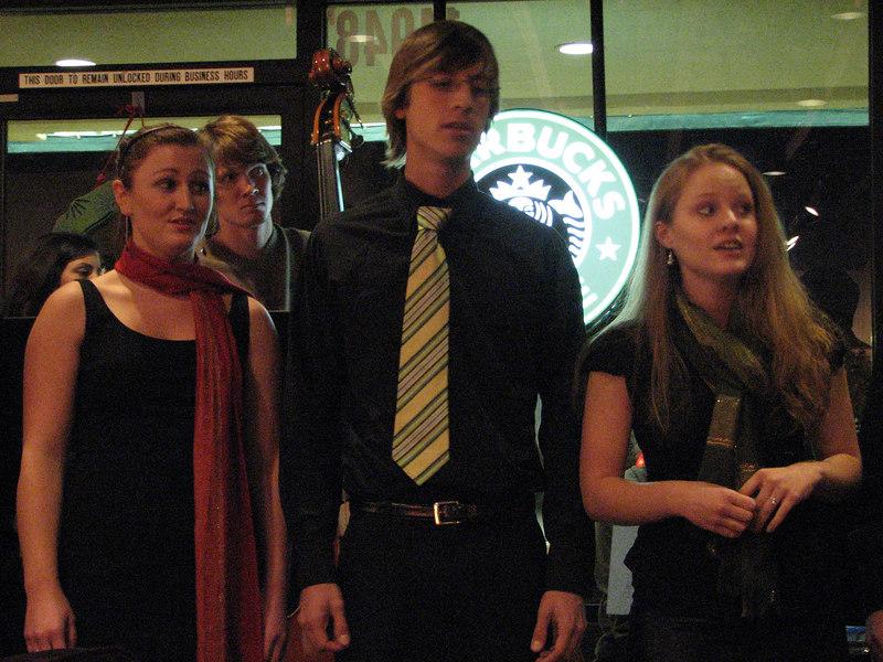2006 12 05 Tue - Shawna Stewart, Heidi Bargen, Nick Knechtel, Dan Rigall, & Heather Onken