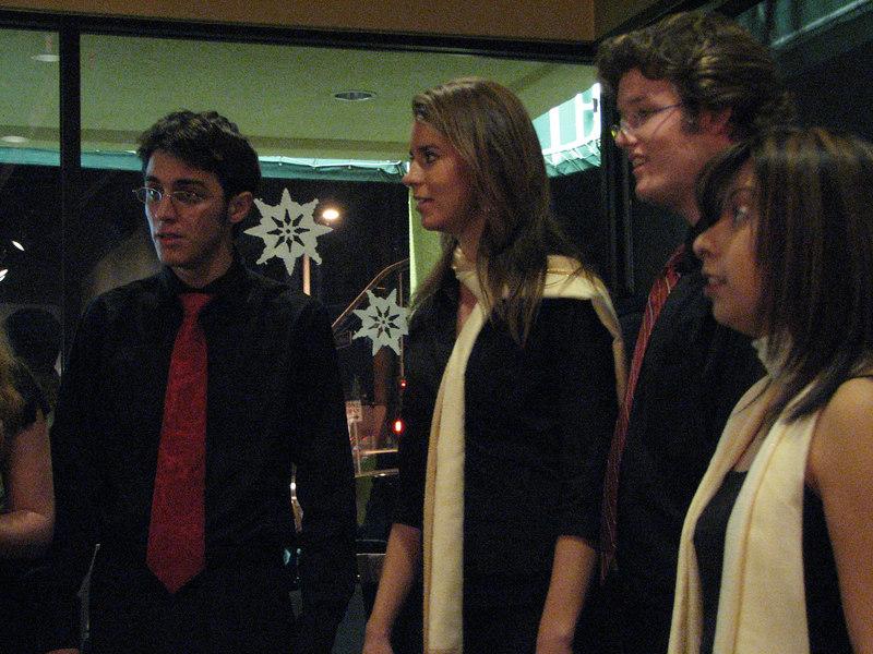 2006 12 05 Tue - Trevor Gomes, Laura Coghlan, Jordan Johnson, Jessi Vasquez