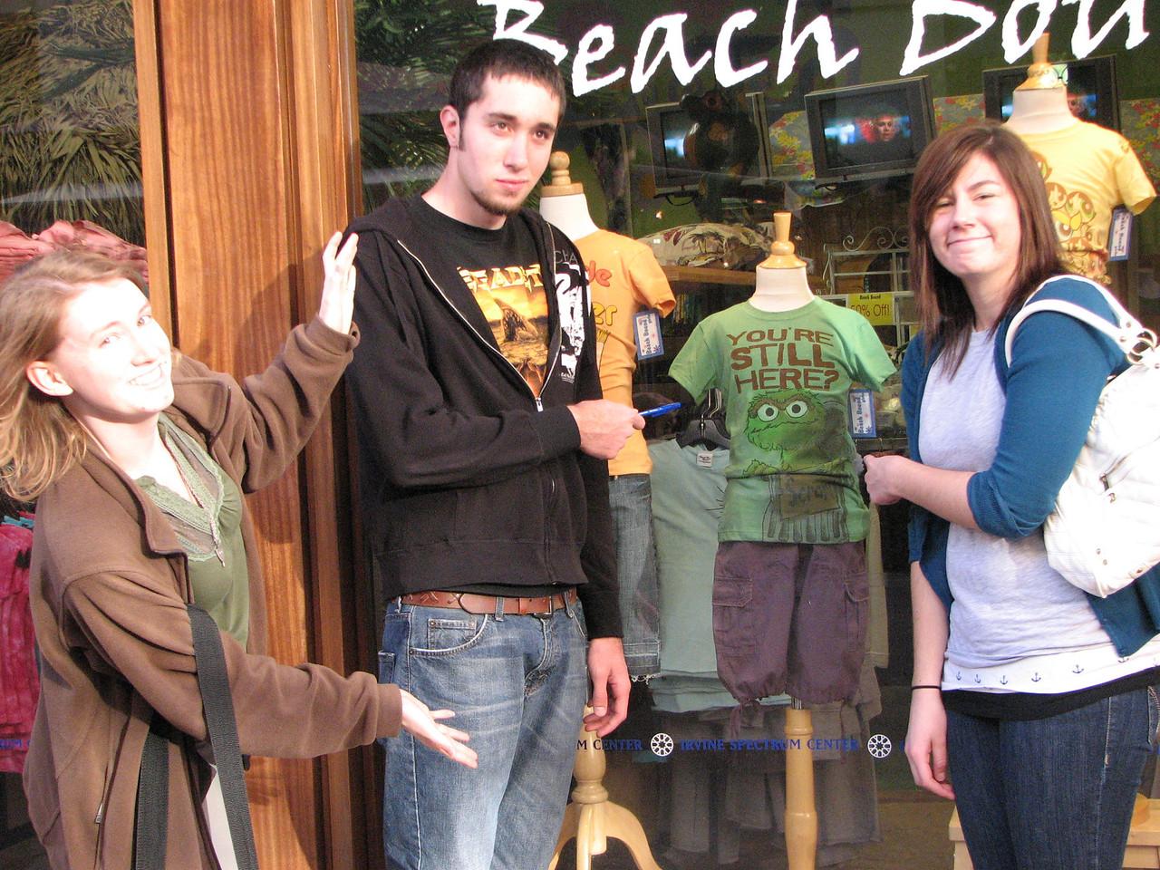 2007 03 02 Fri - Scavenger Hunt - Oscar The Grouch