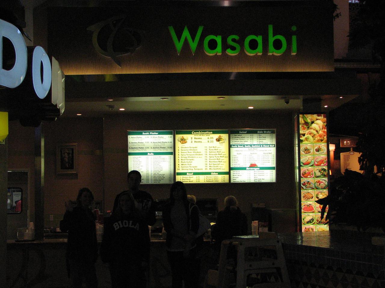 2007 03 02 Fri - Scavenger Hunt - Wasabi together