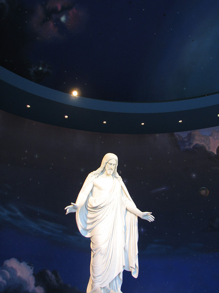 2007 04 11 Wed - Temple Square - Talking Space Jesus