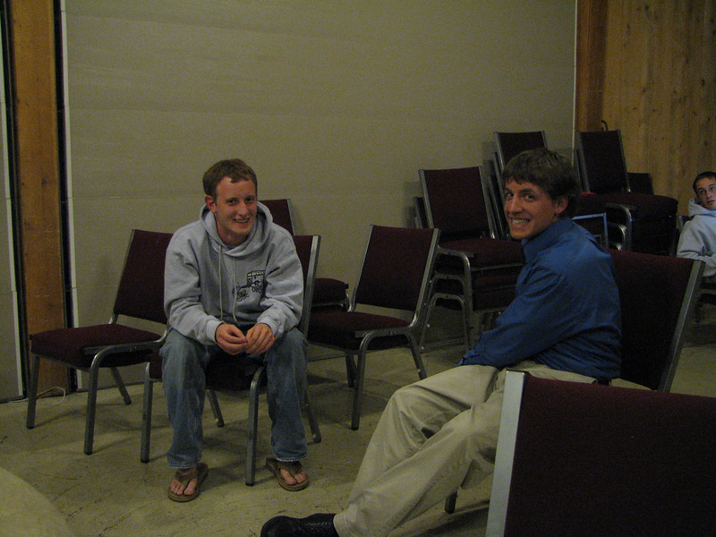 2007 04 10 Tue - The Plintons share @ Christ EV Free - Josh Jones & Justin Barr