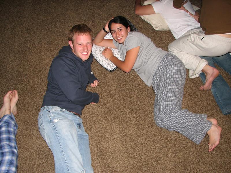 2007 04 14 Sat - Debrief Cabin - Josh Jones & Marisa Casias