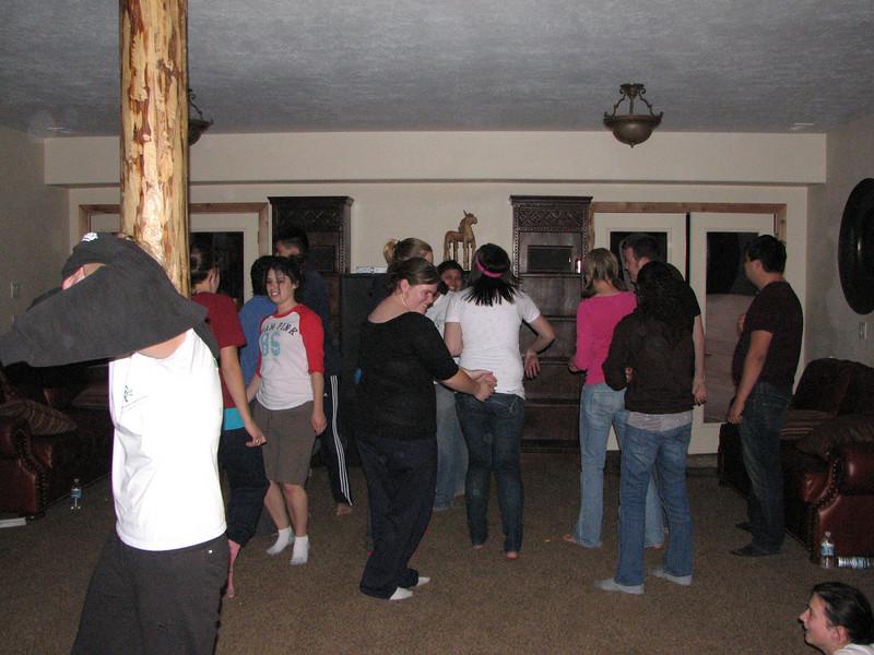 2007 04 14 Sat - Debrief Cabin - DP 1