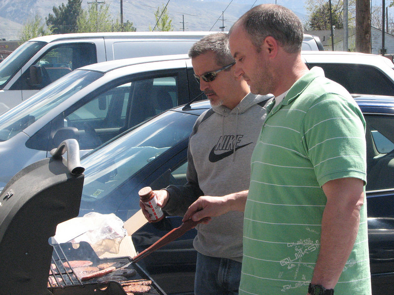 2007 04 13 Fri - Calvary Mountain View - BBQ'ing for us 3