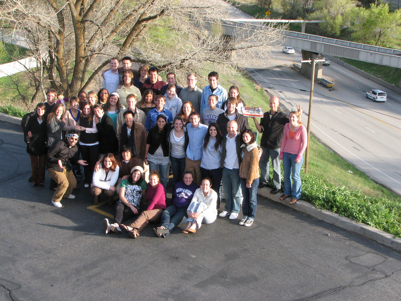 2007 04 12 Thu - Crossroads Christian Fellowship in Ogden, UT - Group pic 1