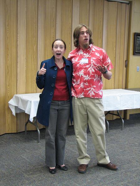 2007 04 10 Tue - BYU Day - Michelle Roberts & Brandt Hanslik