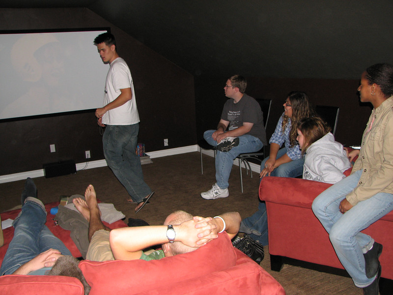 2007 04 07 Sat - John Stringer, Billy Maxfield, Dean Swedberg, Alex Horn, Theresa Norcia, & Kayla Thomas lounging
