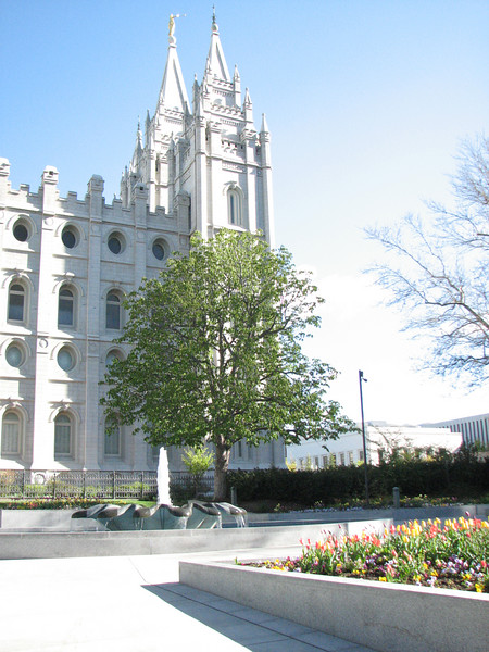 2007 04 11 Wed - Temple Square - Temple 1