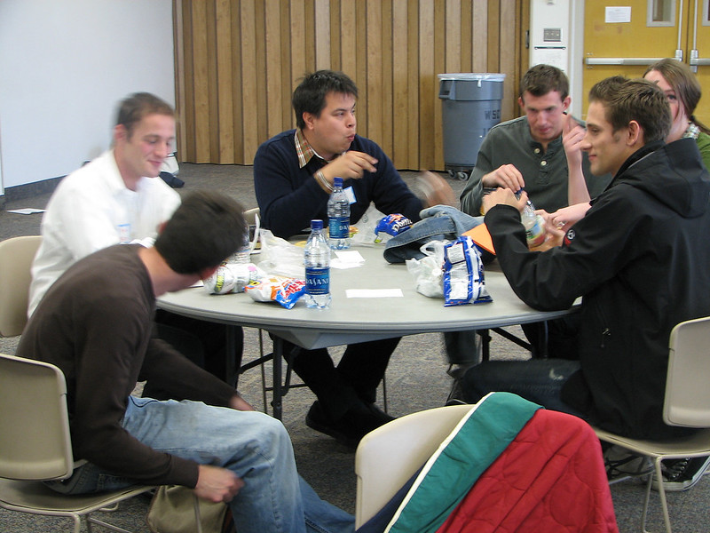 2007 04 10 Tue - BYU Day - Lunch dialogue with LDS 2