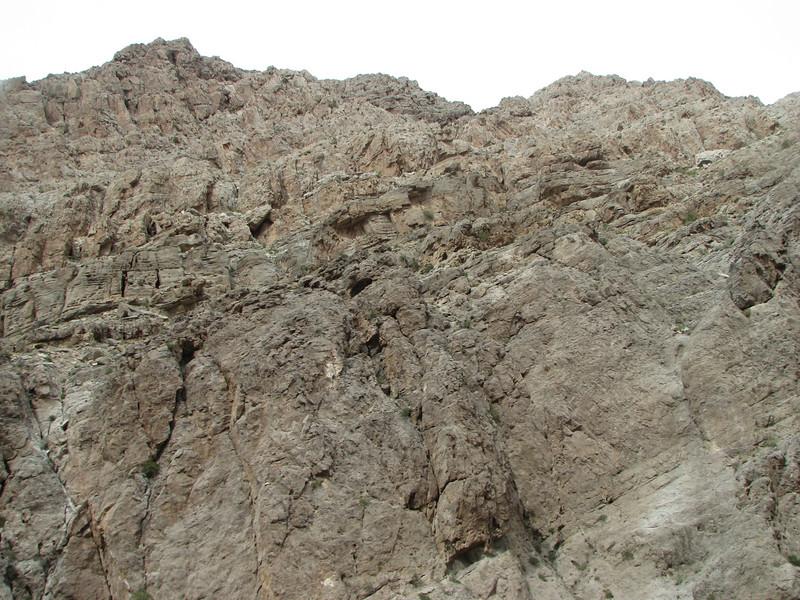 2007 04 06 Fri - Purty rock striations in Arizona