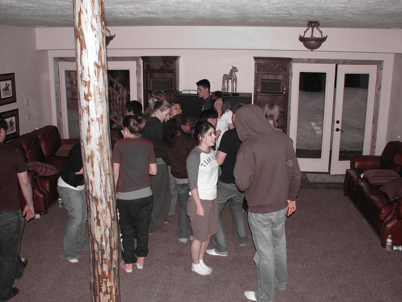 2007 04 14 Sat - Debrief Cabin - DP 2 - In-camera color emphasis