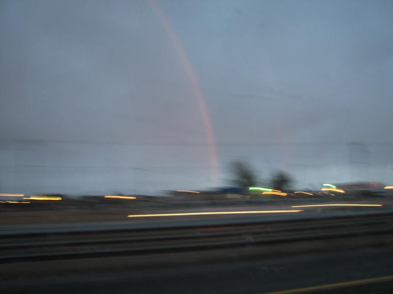 2007 04 15 Sun - Double Rainbow 2
