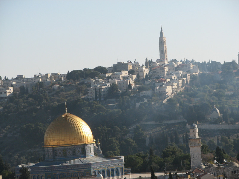 2007 12 29 Sat - Old City walk - Dome of the Rock & Church of the Ascension