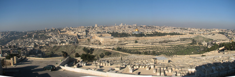 Temple Mount panoramic