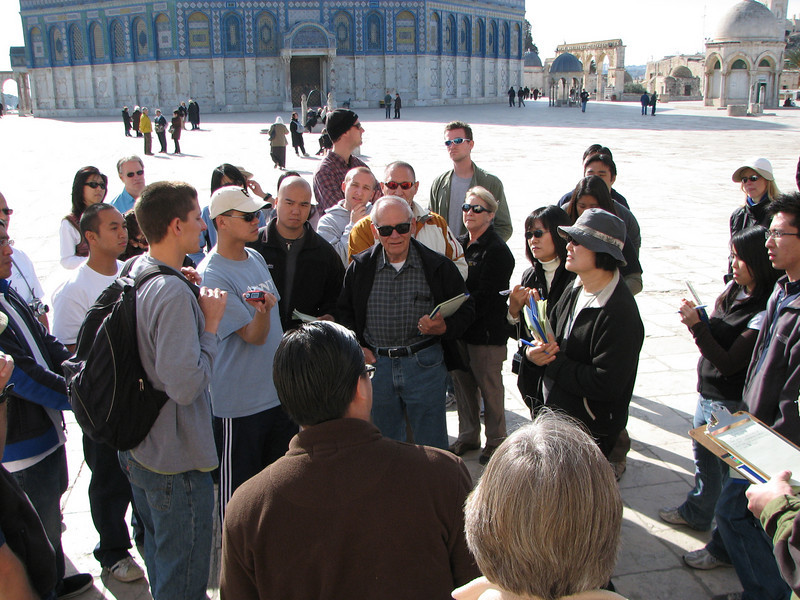 2007 12 31 Mon - Lecture on Temple Mount
