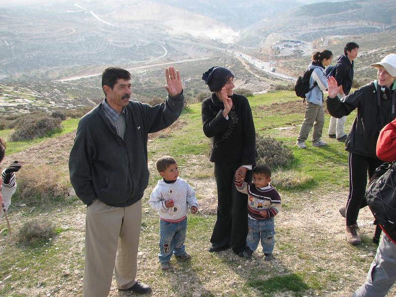 2008 01 01 Tue - Palestinian shepherd wells 3