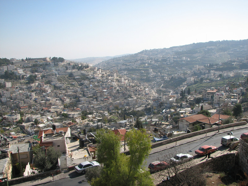 2007 12 29 Sat - Old City walk - City of David, Kidron & Central Valleys