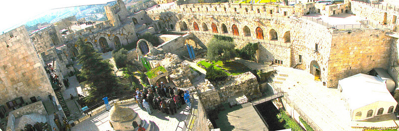 Tower of David panoramic
