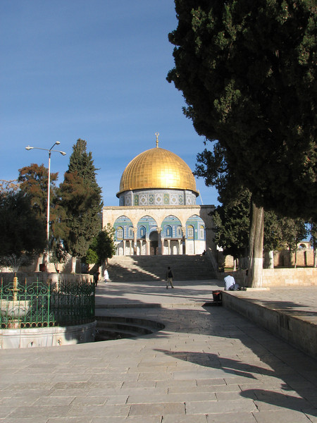 2007 12 31 Mon - Dome of the Rock on Mount Moriah
