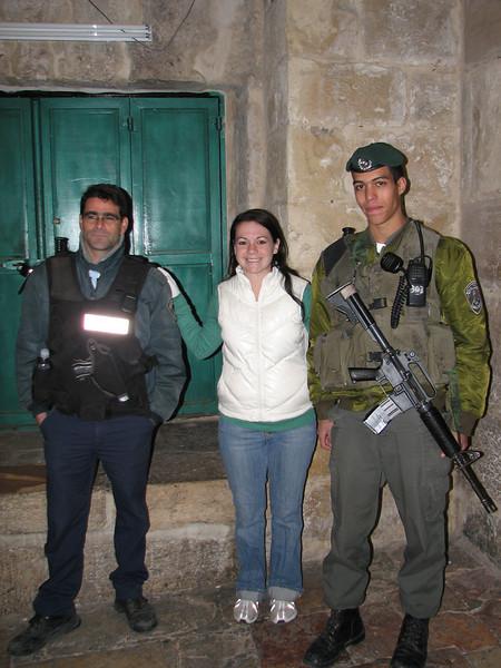 2007 12 31 Mon - Kimberly Boiko & 2 Israeli soldiers 1
