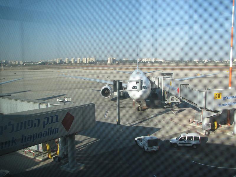 2007 12 28 Fri - Tel Aviv Jaffa - Airport arrival 2
