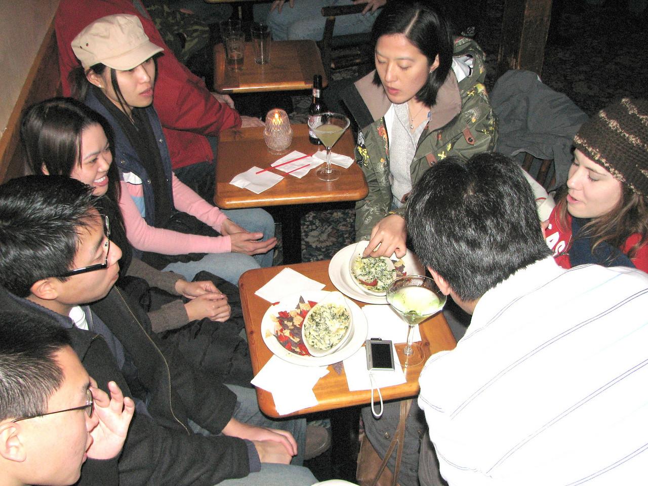 2008 02 09 Sat - Group dinner @ Mogul Restaurant