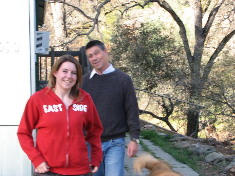 2008 02 10 Sun - Blurry Lori & Tim Fulton